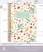 Customizable Floral Planner with Horizontal or Vertical Layout